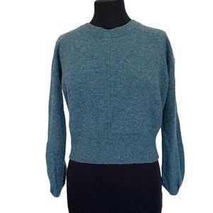 London Kaye Baloon Sleeve 100% Cashmere Pullover